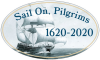 Bumper Sticker - Sail on Pilgrims