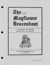 Paper Copy of Mayflower Descendant Vol 37 Issue 1 (1987)